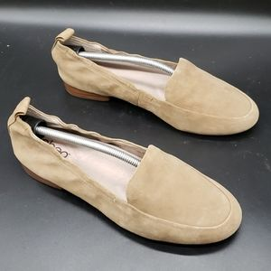 Abeo Jean Leather Loafers Flats worn once!